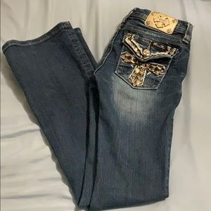 Miss Me Bottoms - Girls Bootcut Miss Me Jeans